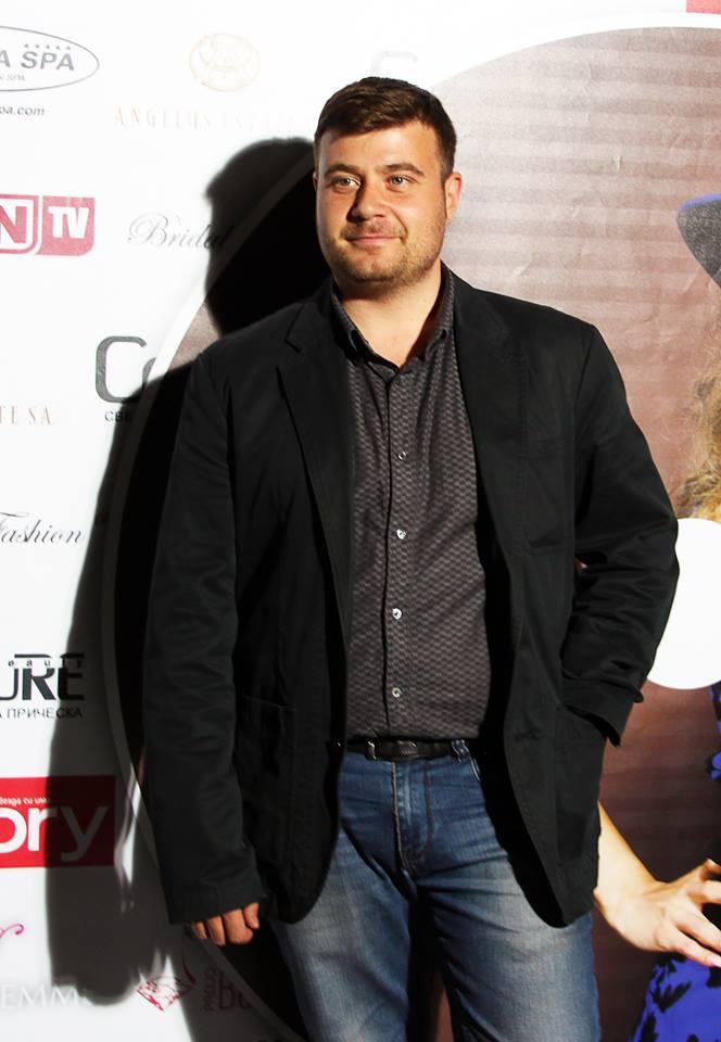 Любомир Чакъров на промоцията на албувма на Бони