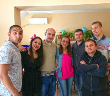 Любомир Чакъров в кампанията Дари Храна за Великден