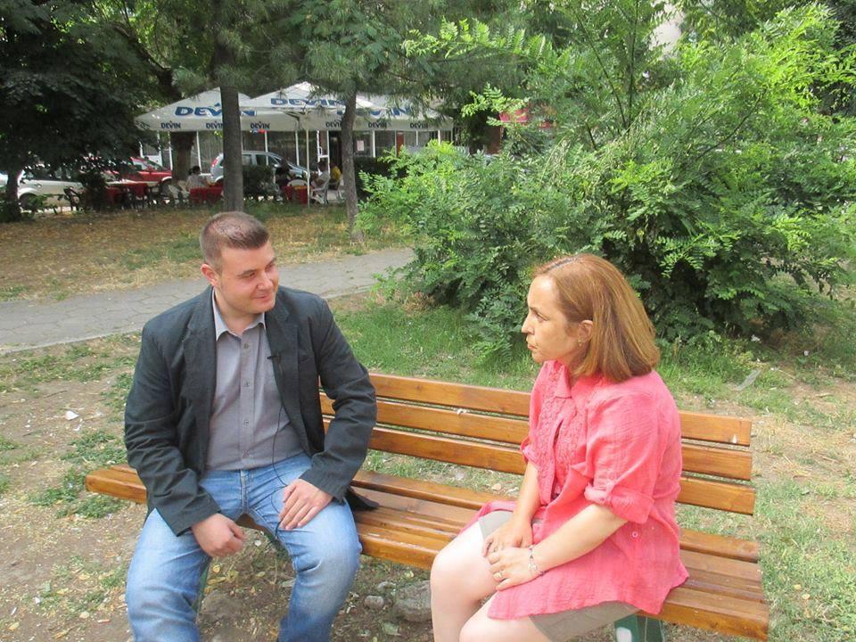 Любомир Чакъров и Даниела Добрева в предаването Ние Хората