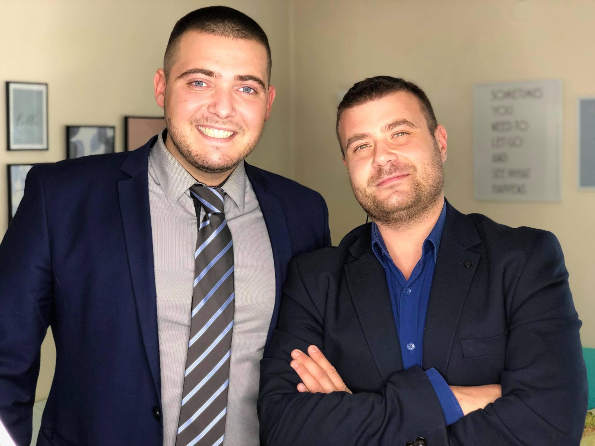 Любомир Чакъров и Васил Митев