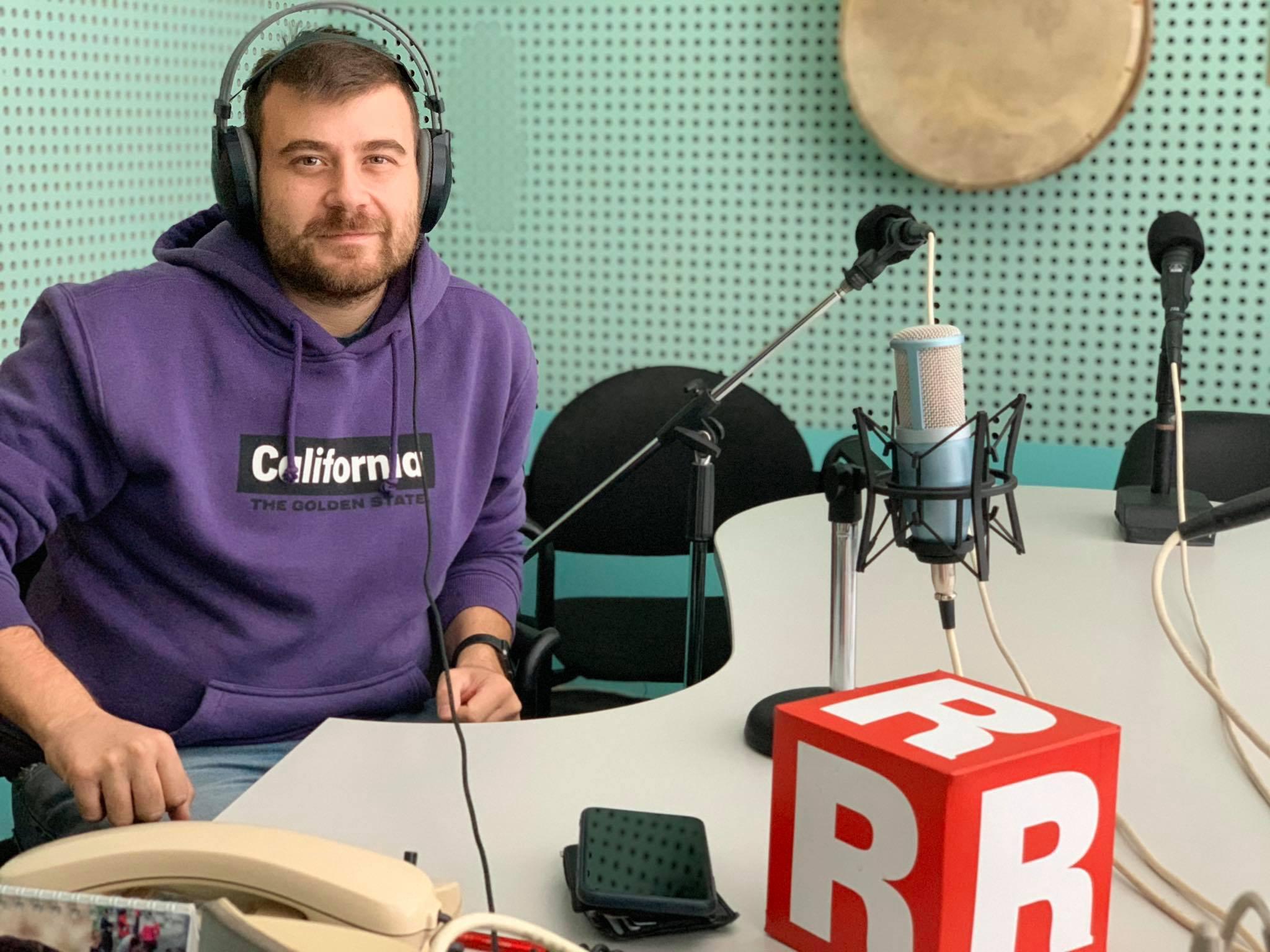Любомир Чакъров в Дарик радио