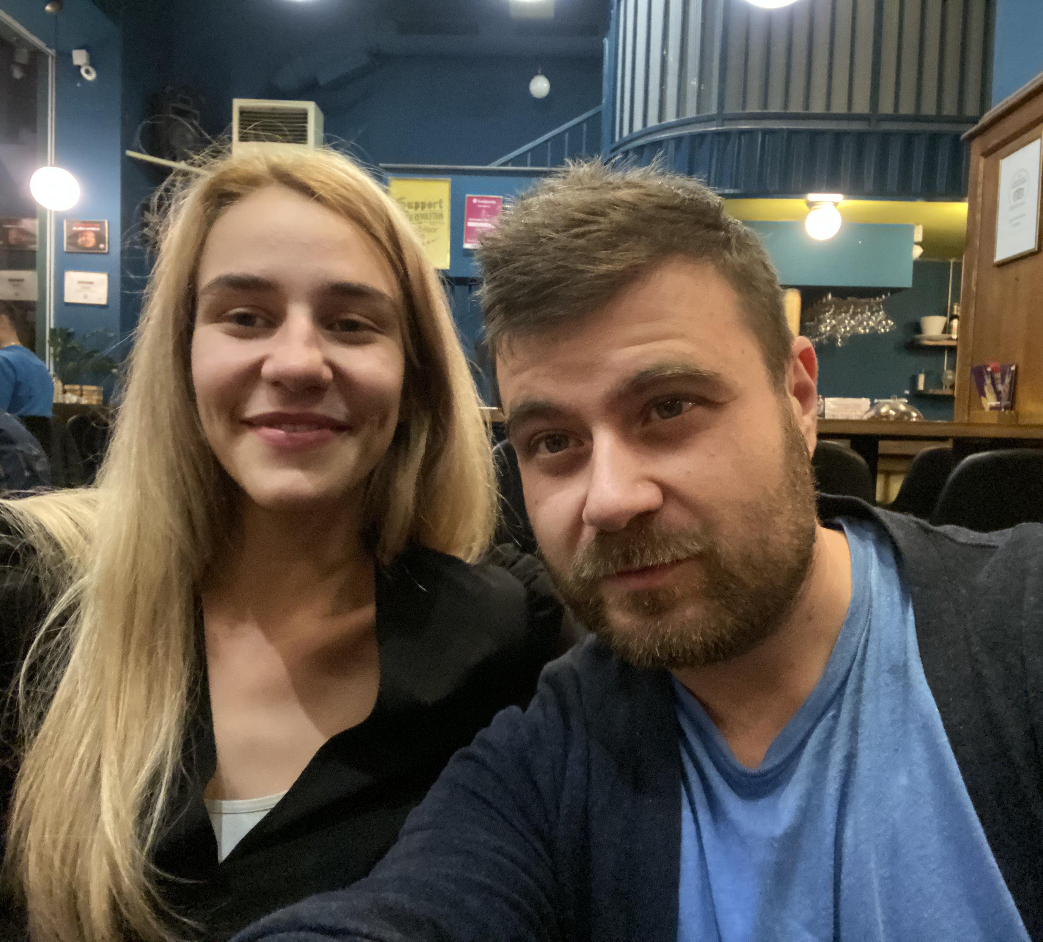 Любомир Чакъров и Мила Роберт в ScaptoBar